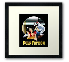 Pulp Fiction - Mia Circular Variant Framed Print