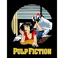 Pulp Fiction - Mia Circular Variant Photographic Print