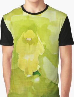 Green Orchid Graphic T-Shirt