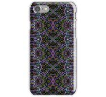Neon grass pattern iPhone Case/Skin