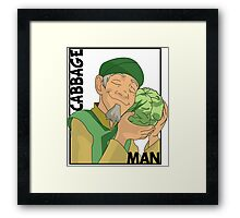 Cabbage Man; The Avatar Series Framed Print