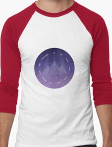 TO THE STARS WHO LISTEN AND THE DREAMS THAT ARE ANSWERED- SARAH J. MAAS Men's Baseball ¾ T-Shirt