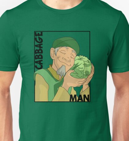 Cabbage Man; The Avatar Series Unisex T-Shirt