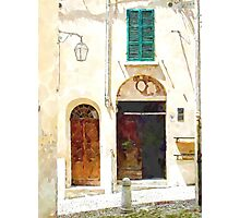 Brisighella: house facade Photographic Print