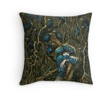 Rook Music Throw Pillow