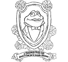 Mr. Toad Shield Photographic Print