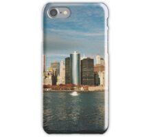 Manhattan skyline iPhone Case/Skin