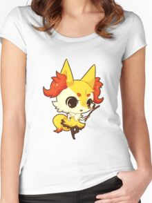 braixen Women's Fitted Scoop T-Shirt