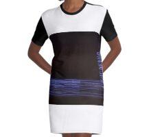 Fire Lights #2 Graphic T-Shirt Dress