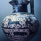 630 BC Corinthian Wine Jug Vatican Museum Rome Italy 19840723 0031 by Fred Mitchell