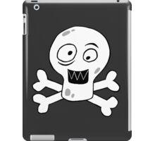 HAPPY SKULL (BLACK) iPad Case/Skin