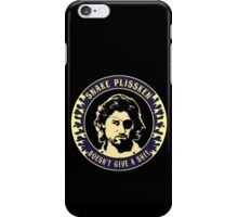 Snake Plissken (doesn't give a shit) Colour 3 iPhone Case/Skin