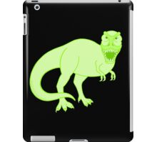 Green T Rex Dinosaur Colorful Prehistoric Animal iPad Case/Skin