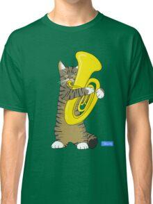 Tuba Cat Classic T-Shirt