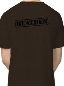 Heathen Prison Jumpsuit Stamp Classic T-Shirt