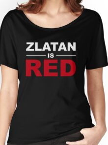 Zlatan Ibrahimovic - Manchester United Women's Relaxed Fit T-Shirt