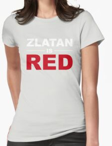 Zlatan Ibrahimovic - Manchester United Womens Fitted T-Shirt