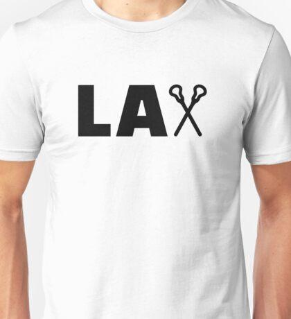 Lacrosse Lax sticks Unisex T-Shirt