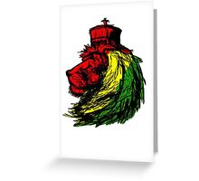 Lion Of Zion Greeting Card