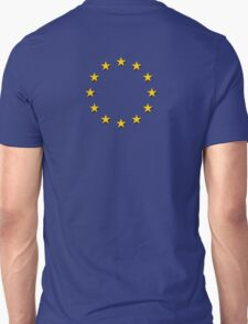 EU Flag Dress - European Union Sticker Unisex T-Shirt