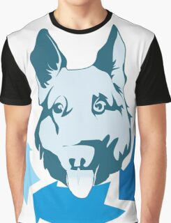 Returning Dog Cool Design Graphic T-Shirt