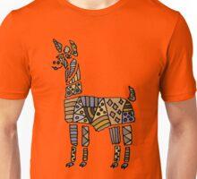 Fun Funky Llama Abstract Art original Unisex T-Shirt