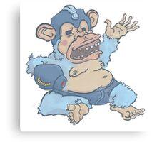 Mega Monkey - a Mega Man Adaptation Canvas Print