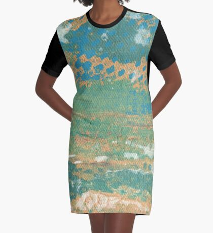 Playa Del Rey Graphic T-Shirt Dress