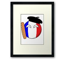 French Ball Framed Print