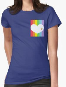 Pastel Pride Womens Fitted T-Shirt