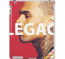 Chris Brown Legacy Tee iPad Case/Skin