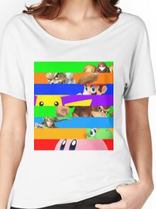 Smash for WiiU and 3DS - Old School 64  Women's Relaxed Fit T-Shirt