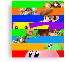 Smash for WiiU and 3DS - Old School 64  Canvas Print