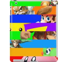 Smash for WiiU and 3DS - Old School 64  iPad Case/Skin