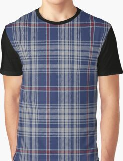 01151 BlueButter Fashion Tartan  Graphic T-Shirt