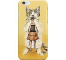 Big cat iPhone Case/Skin