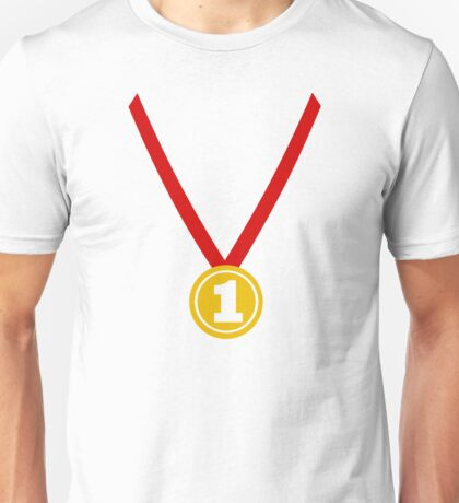 Medal champion winner Unisex T-Shirt