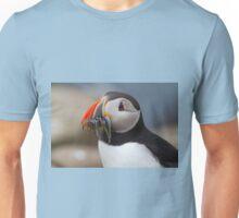 Puffin in Landscape Unisex T-Shirt