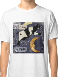 Cow Jumped Over The Moon Classic T-Shirt