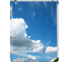 Cirrus and Cumulus Clouds iPad Case/Skin