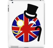 British ball iPad Case/Skin