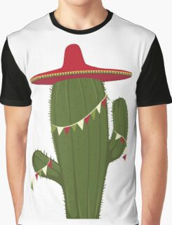 Elegant and Beautiful Cactus Desert Plant Graphic T-Shirt