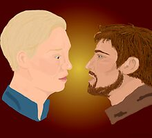 Jaime x Brienne by theatremusicetc