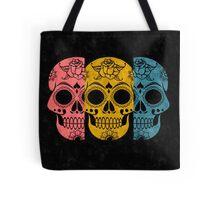 Pop Grunge Sugar Skulls Tote Bag