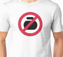 No curling Unisex T-Shirt