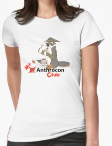 Not at Anthrocon Club Womens Fitted T-Shirt