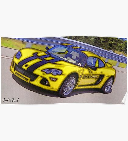 Yello-Car-Justin Beck-picture-2015102 Poster
