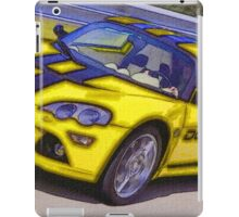 Yello-Car-Justin Beck-picture-2015102 iPad Case/Skin