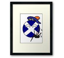 Scottish Ball Framed Print