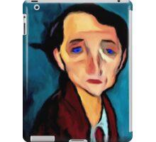 portrait-of-franz-hellens iPad Case/Skin